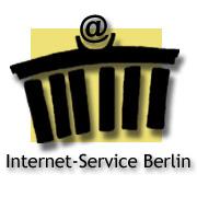Logo Internet-Service Berlin - Webdesign, Firmen-Homepages und Online-Shops sowie Websites für Privat, Vereine, Künstler uvm.